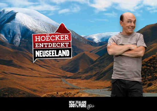 Hoecker entdeckt Neuseeland